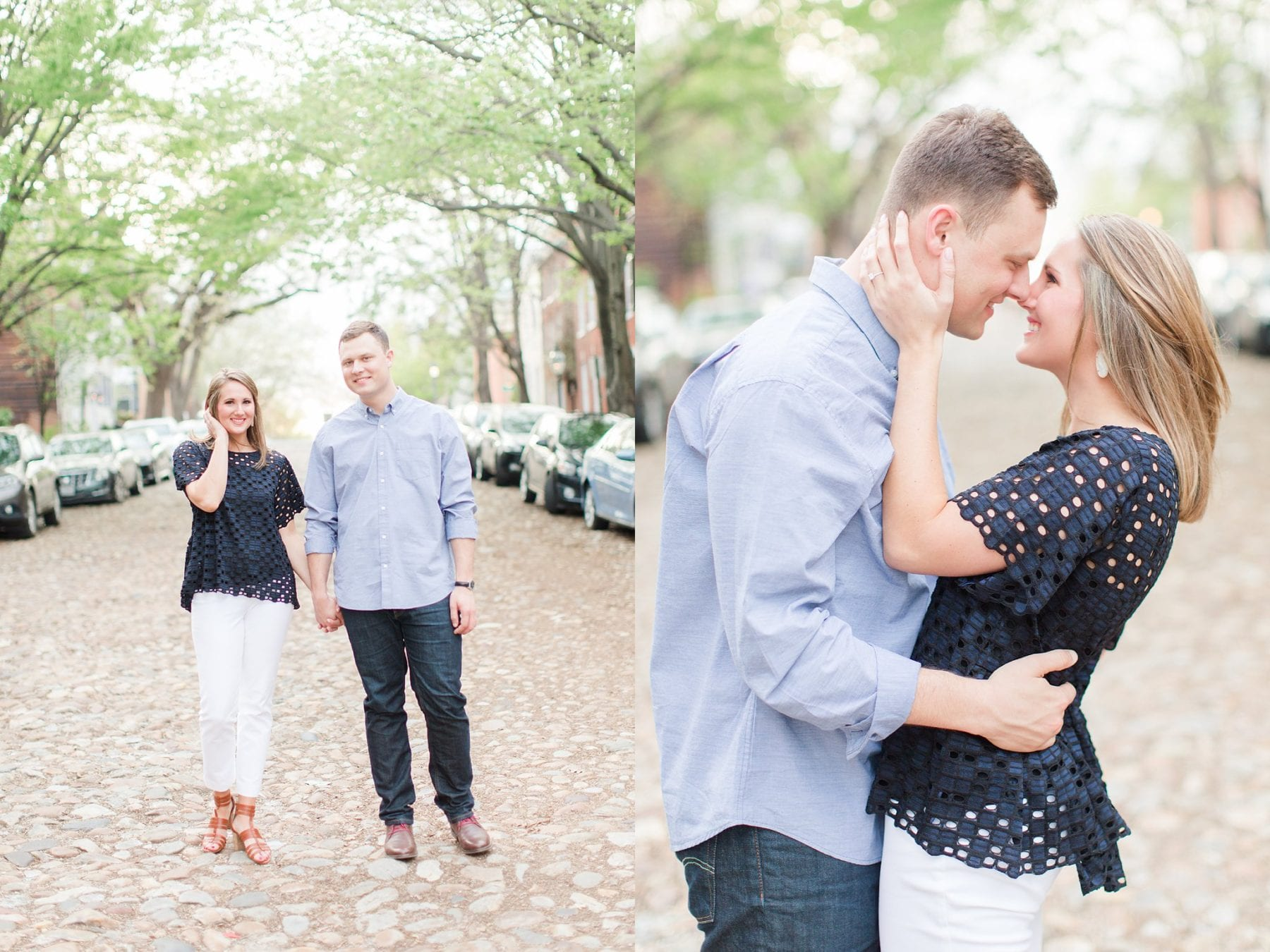 Springtime Old Town Alexandria Engagement Session Matt & Maxie Megan Kelsey Photography-213.jpg