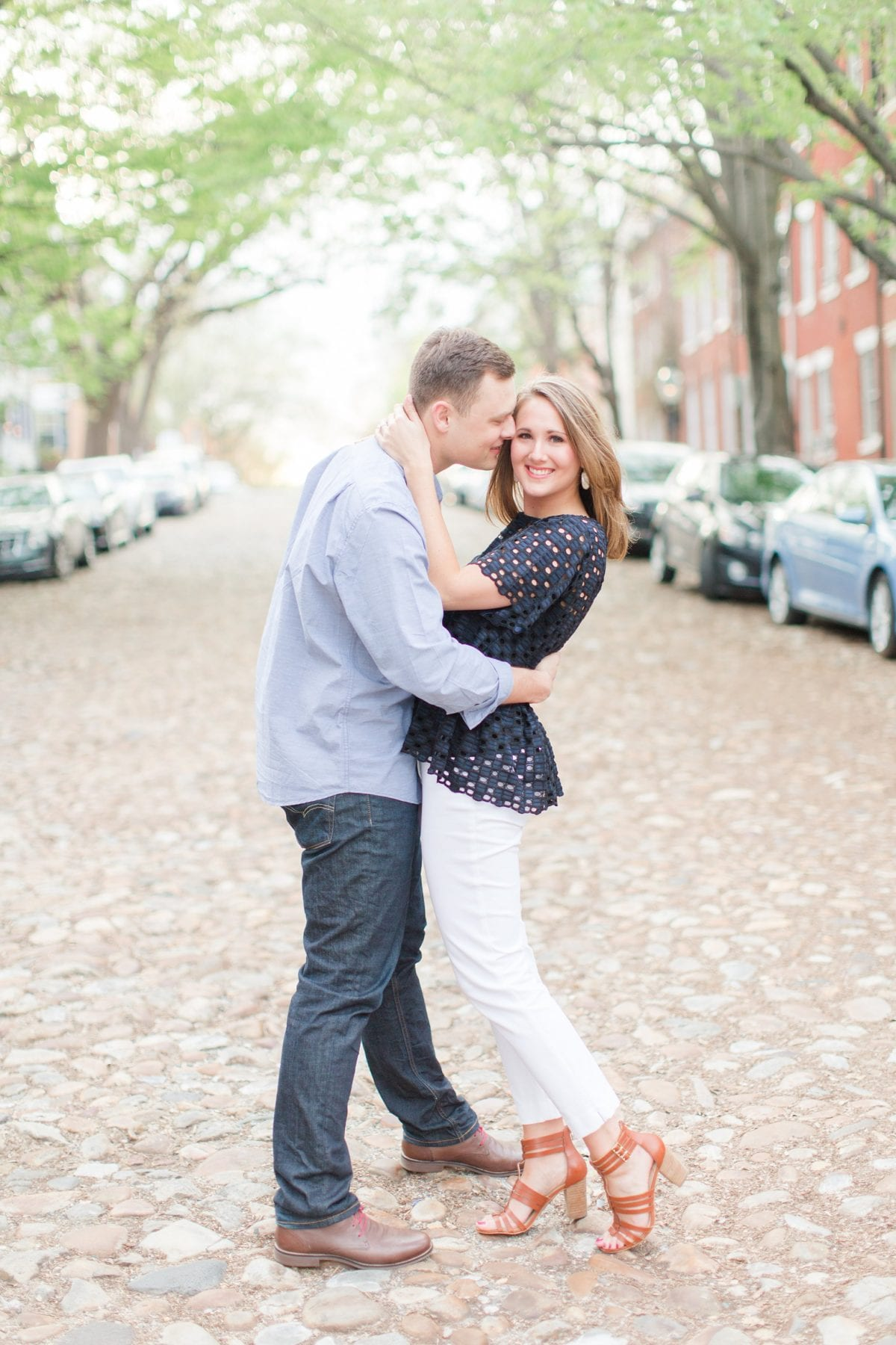 Springtime Old Town Alexandria Engagement Session Matt & Maxie Megan Kelsey Photography-219.jpg