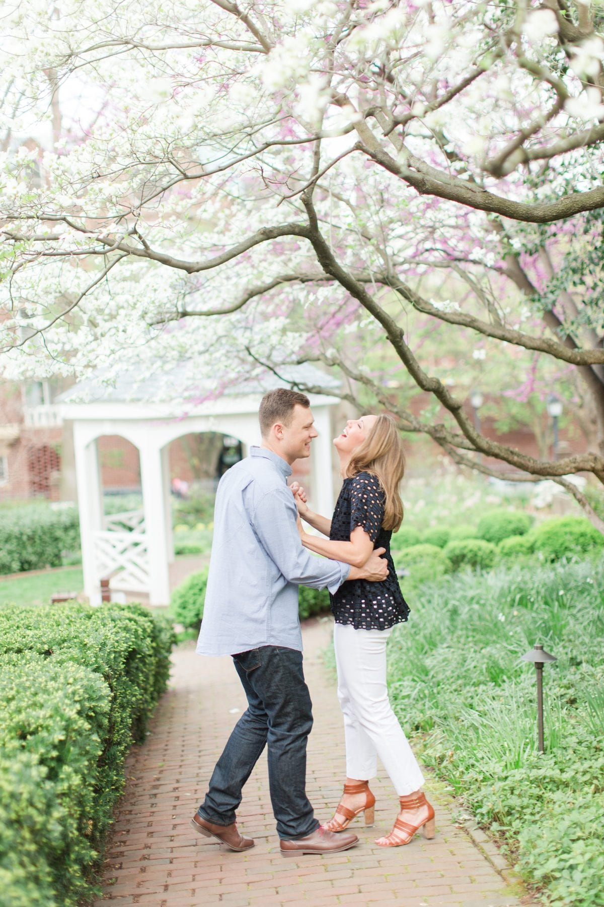 Springtime Old Town Alexandria Engagement Session Matt & Maxie Megan Kelsey Photography-246.jpg