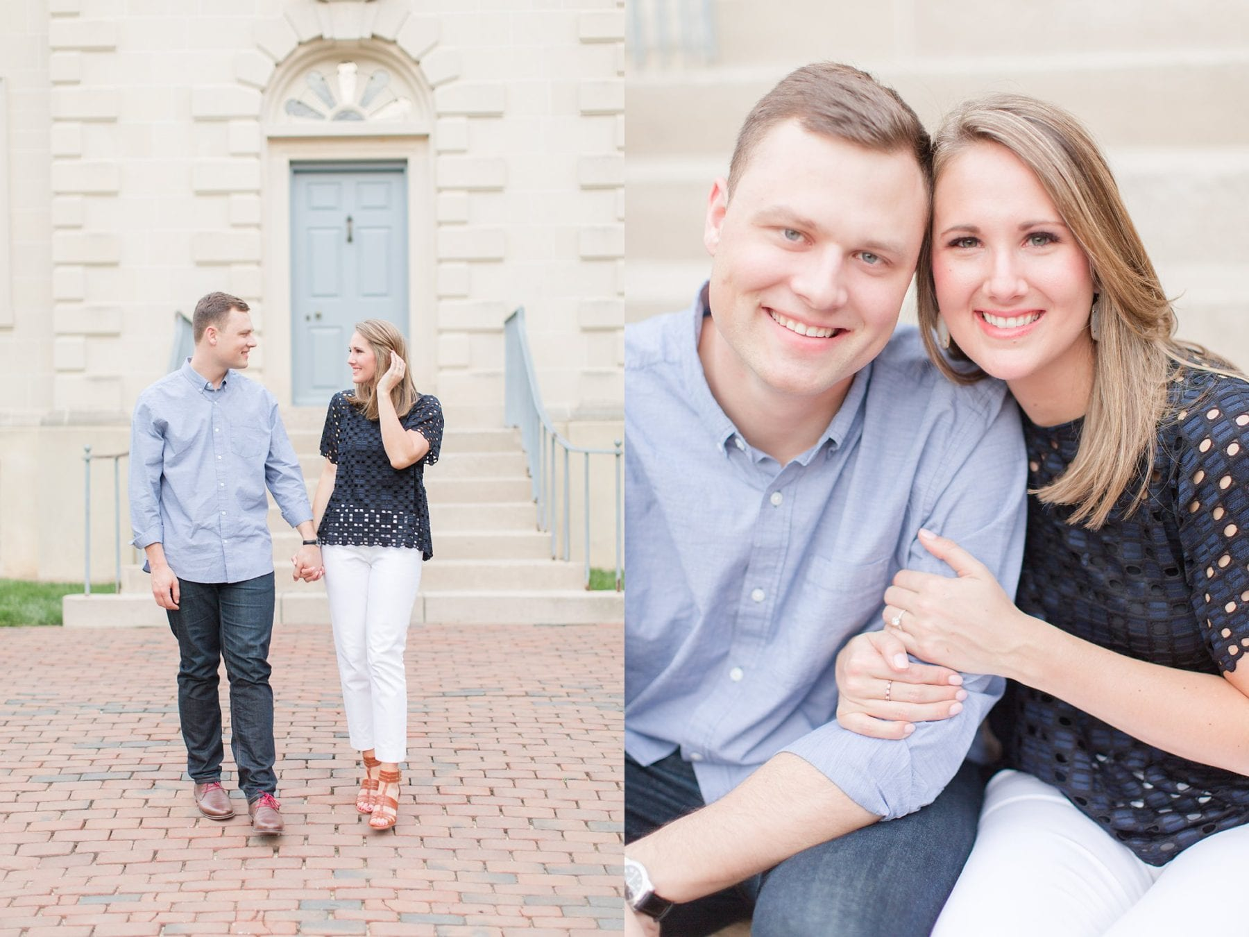 Springtime Old Town Alexandria Engagement Session Matt & Maxie Megan Kelsey Photography-297.jpg