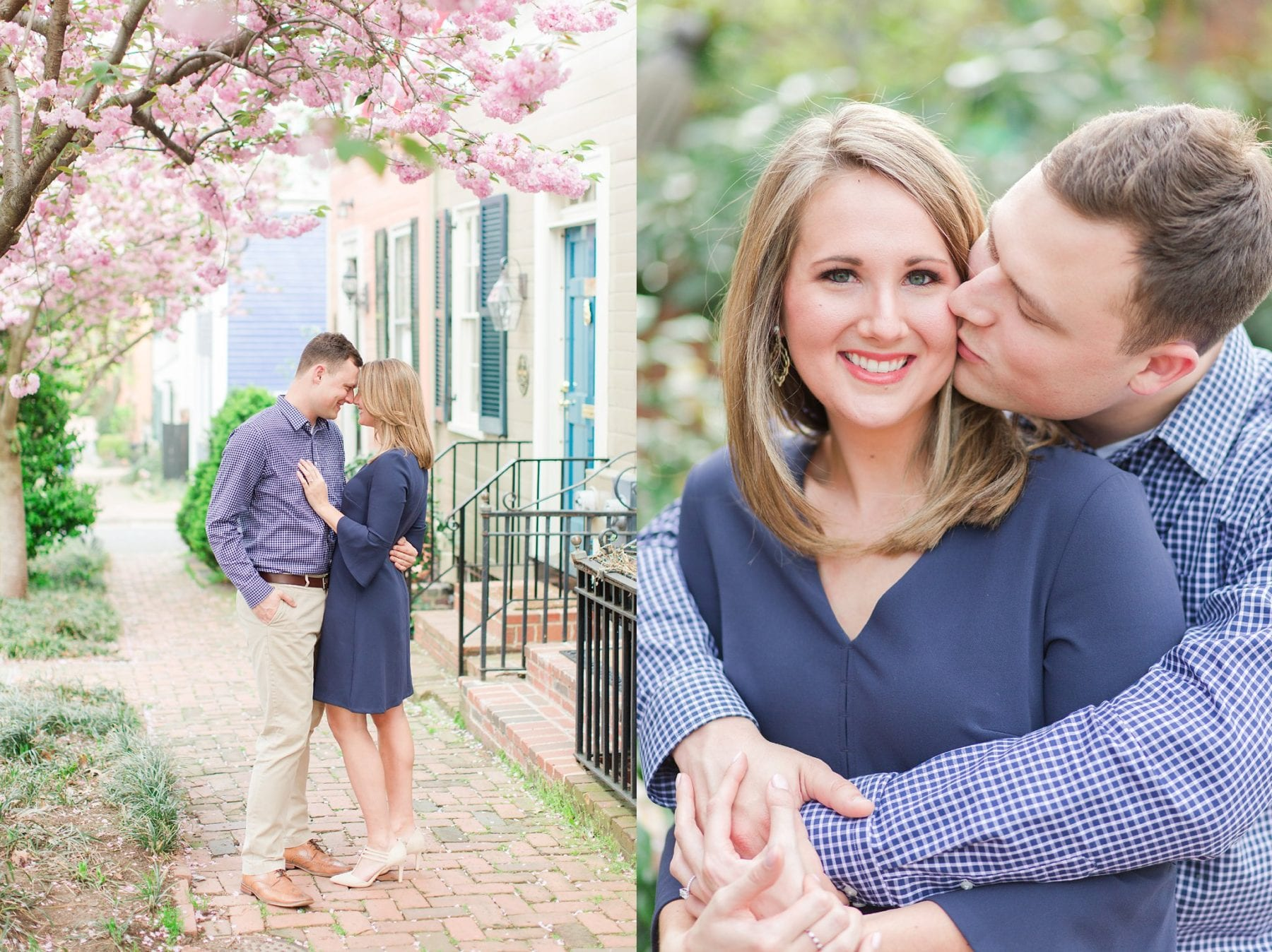 Springtime Old Town Alexandria Engagement Session Matt & Maxie Megan Kelsey Photography-11.jpg