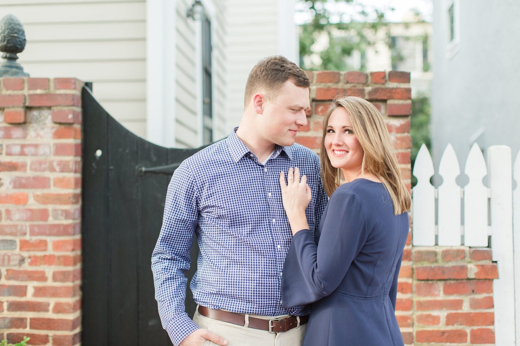 Springtime Old Town Alexandria Engagement Session Matt & Maxie Megan Kelsey Photography-70.jpg