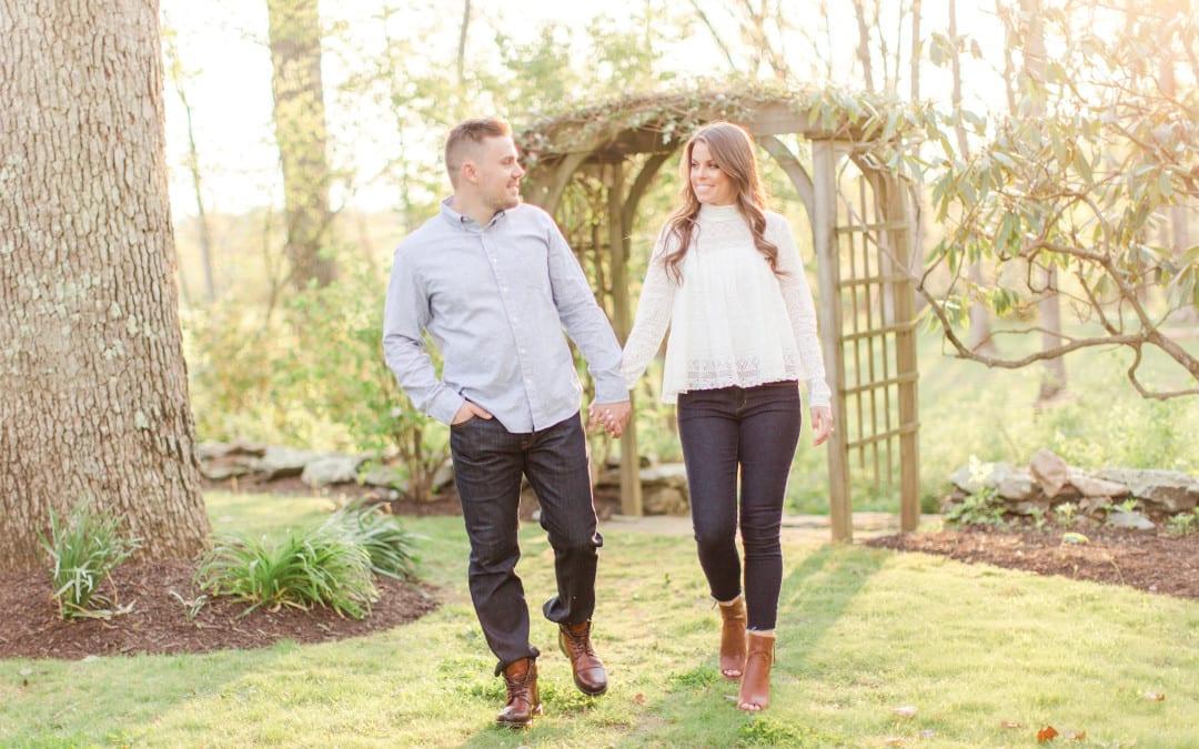 Goodstone Inn Engagement Session | Sarah & Kevin