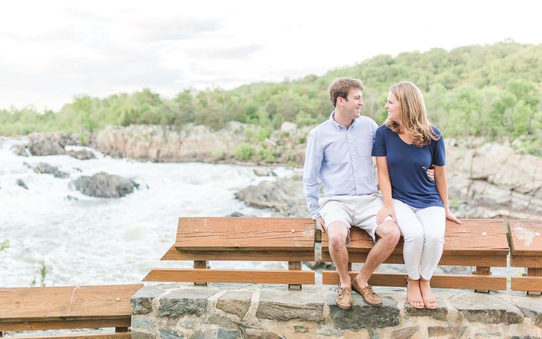 Great Falls Engagement Session | Elizabeth & Chris