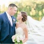 Harbour View Wedding   Britney & Greg   Navy & Blush Wedding in Occoquan, Virginia