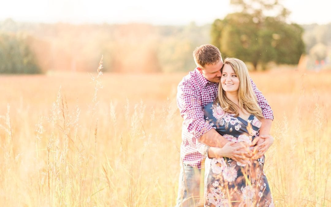 Manassas Battlefield Henry Hill Engagement Session | Kayla & Evan