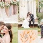 Bella Sera Gardens Wedding | David & Anna | French Inspired Chic Wedding