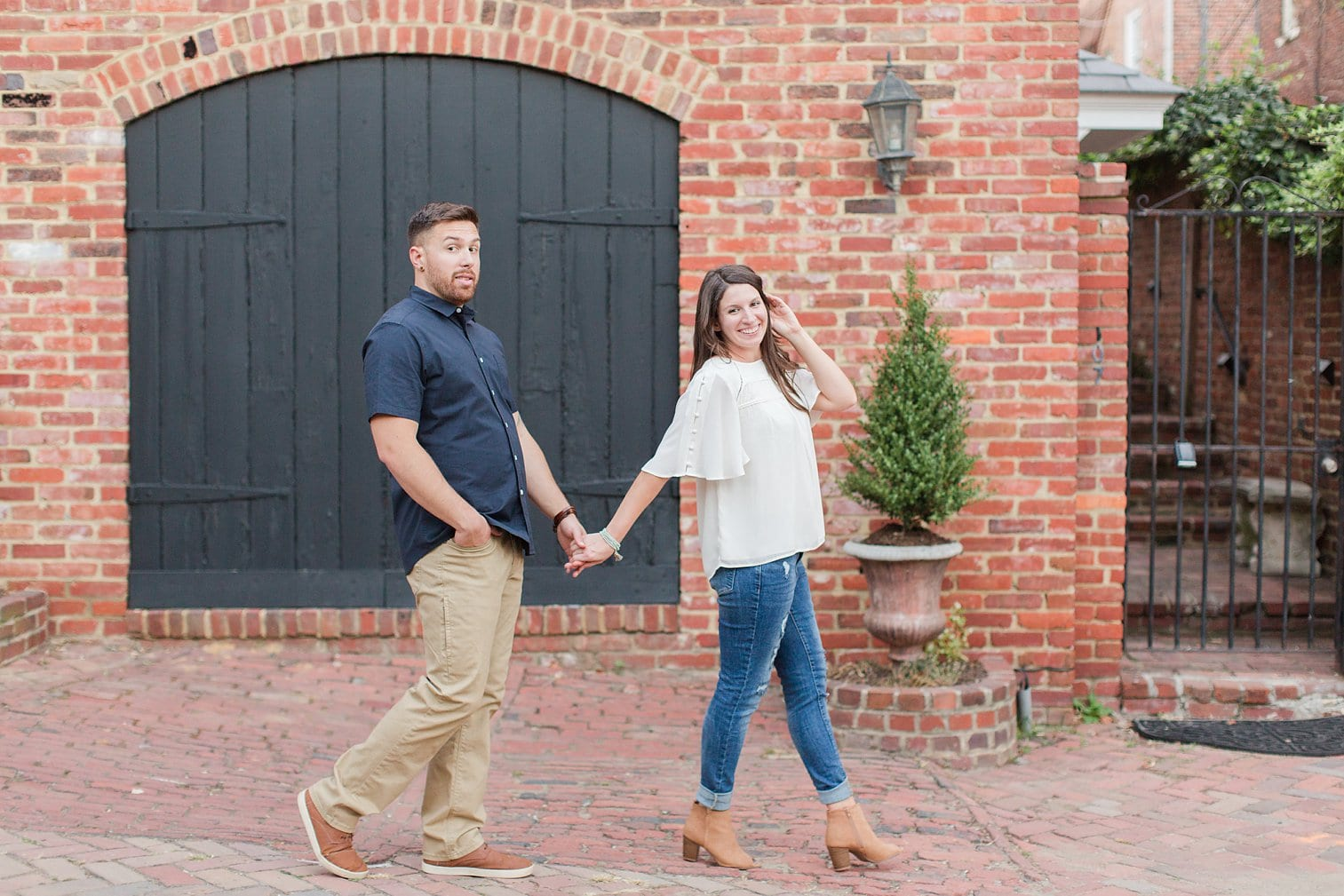 Fall Old Town Alexandria Engagement Photos Megan Kelsey Photography Virginia Wed-0002.jpg