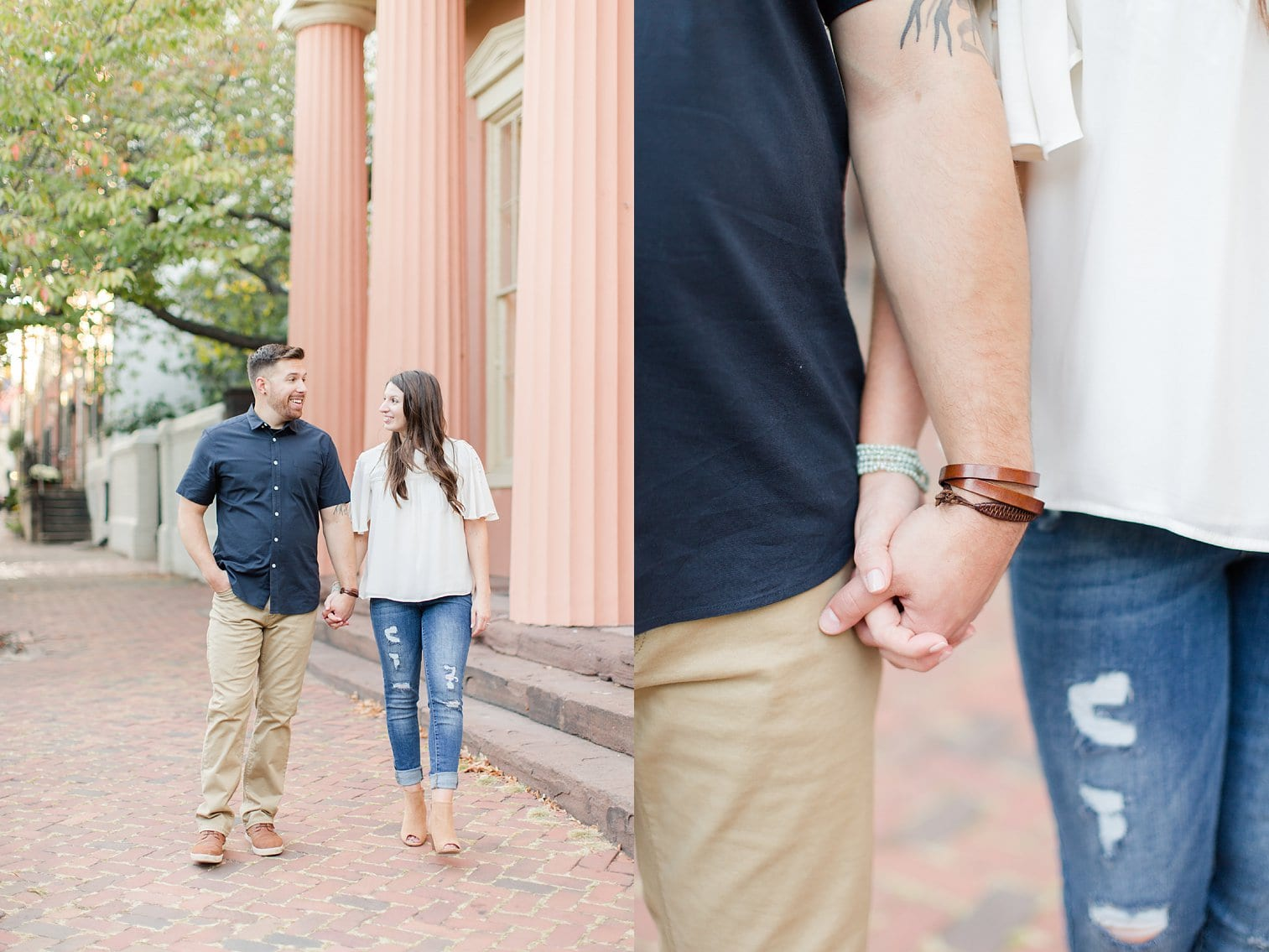 Fall Old Town Alexandria Engagement Photos Megan Kelsey Photography Virginia Wed-0005.jpg