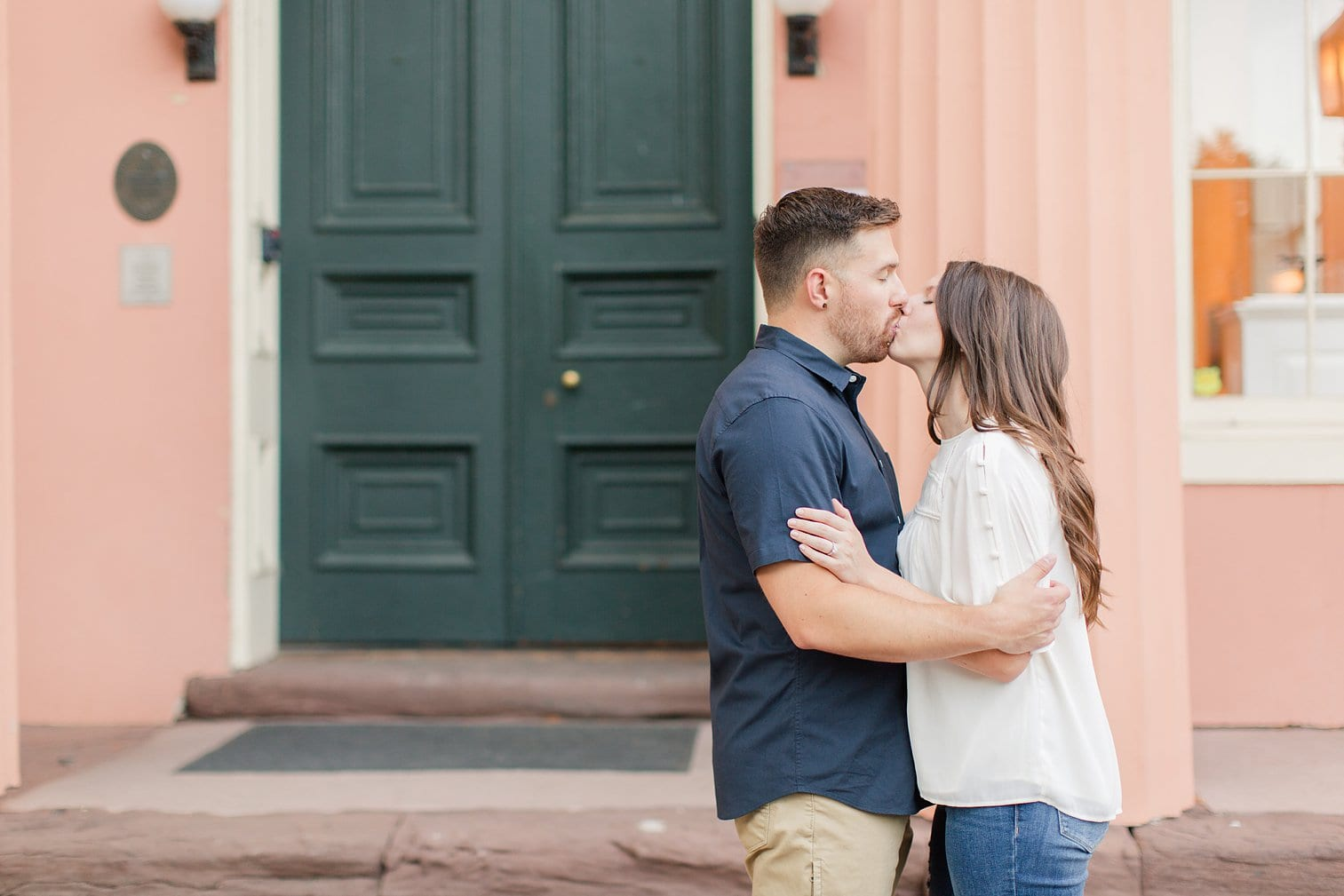 Fall Old Town Alexandria Engagement Photos Megan Kelsey Photography Virginia Wed-0008.jpg