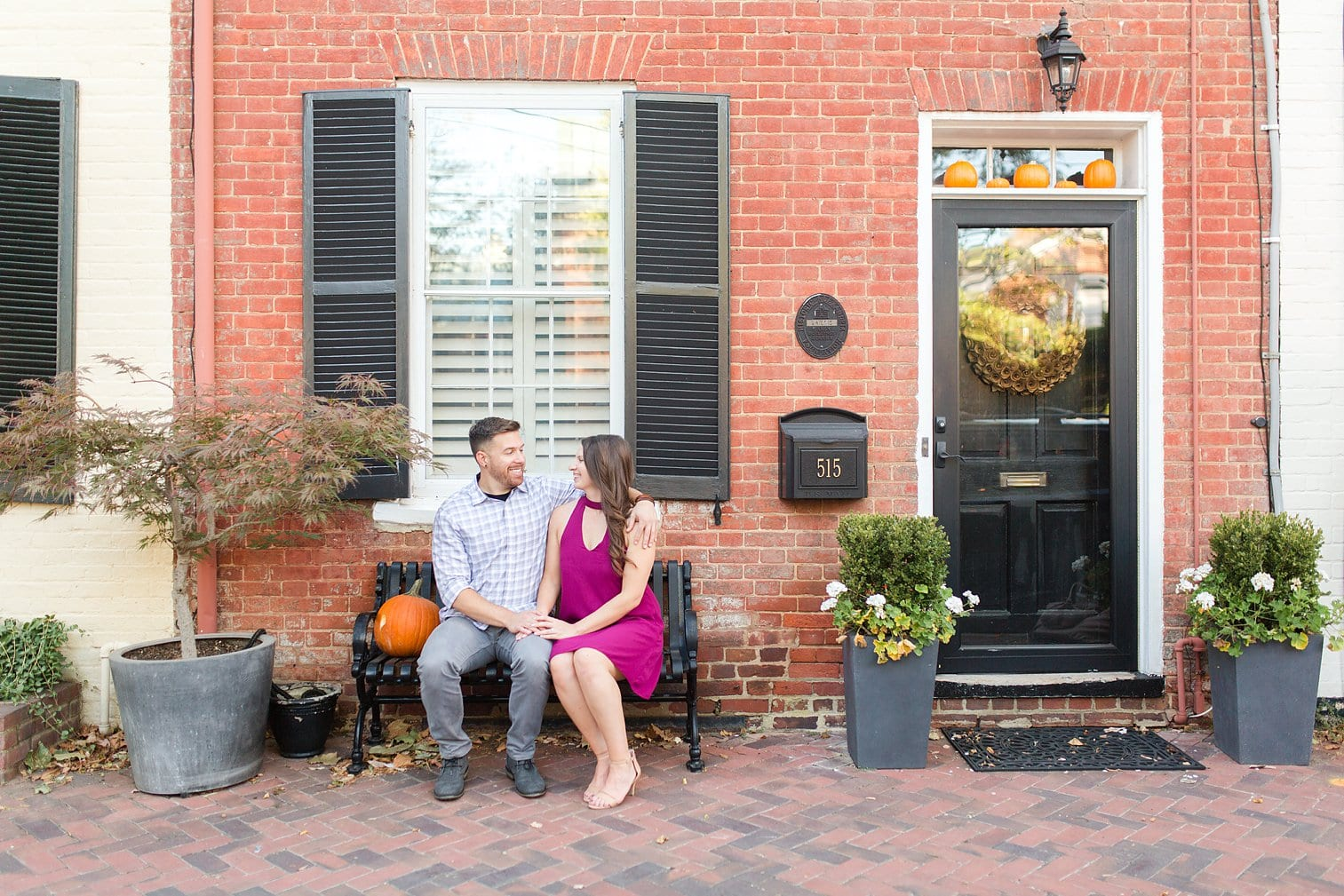 Fall Old Town Alexandria Engagement Photos Megan Kelsey Photography Virginia Wed-0012.jpg
