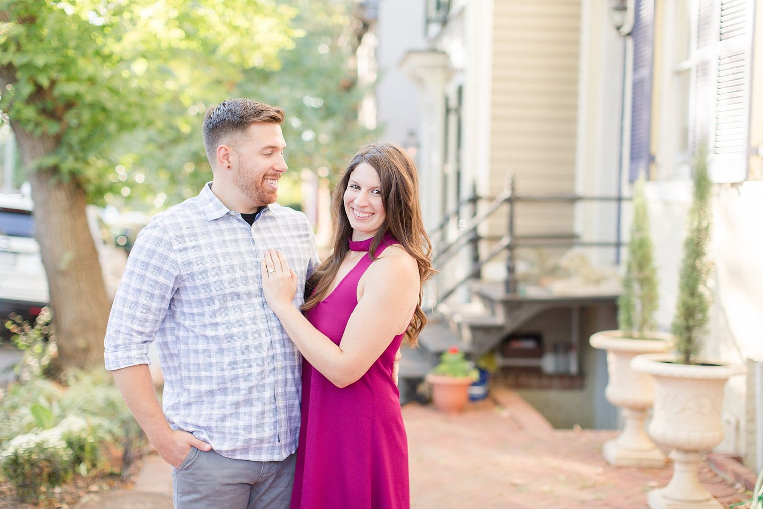 Fall Old Town Alexandria Engagement Photos Megan Kelsey Photography Virginia Wed-0014.jpg