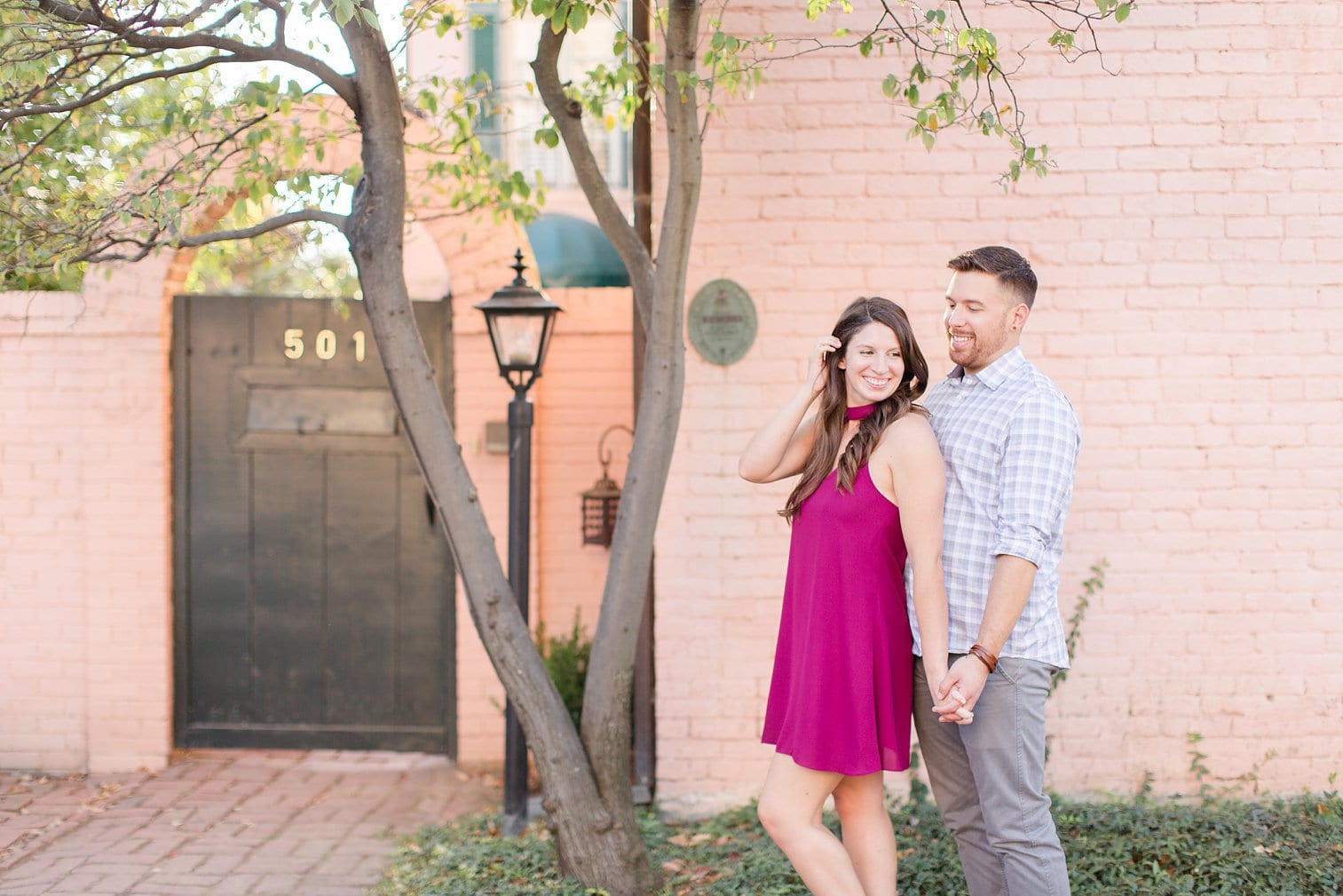 Fall Old Town Alexandria Engagement Photos Megan Kelsey Photography Virginia Wed-0018.jpg