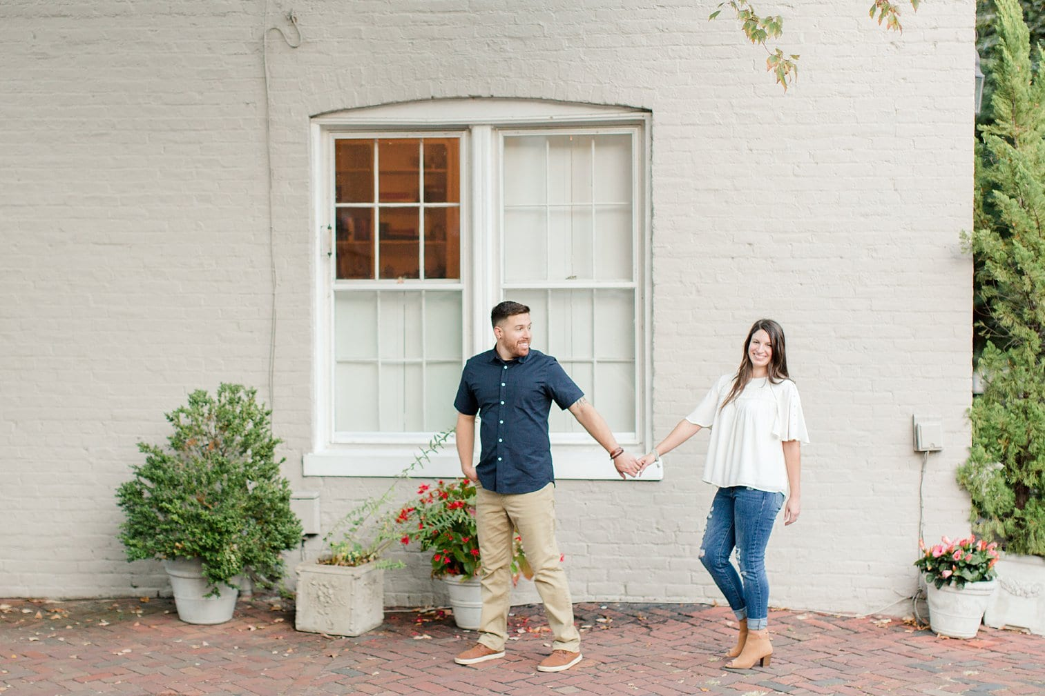 Fall Old Town Alexandria Engagement Photos Megan Kelsey Photography Virginia Wed-0020.jpg