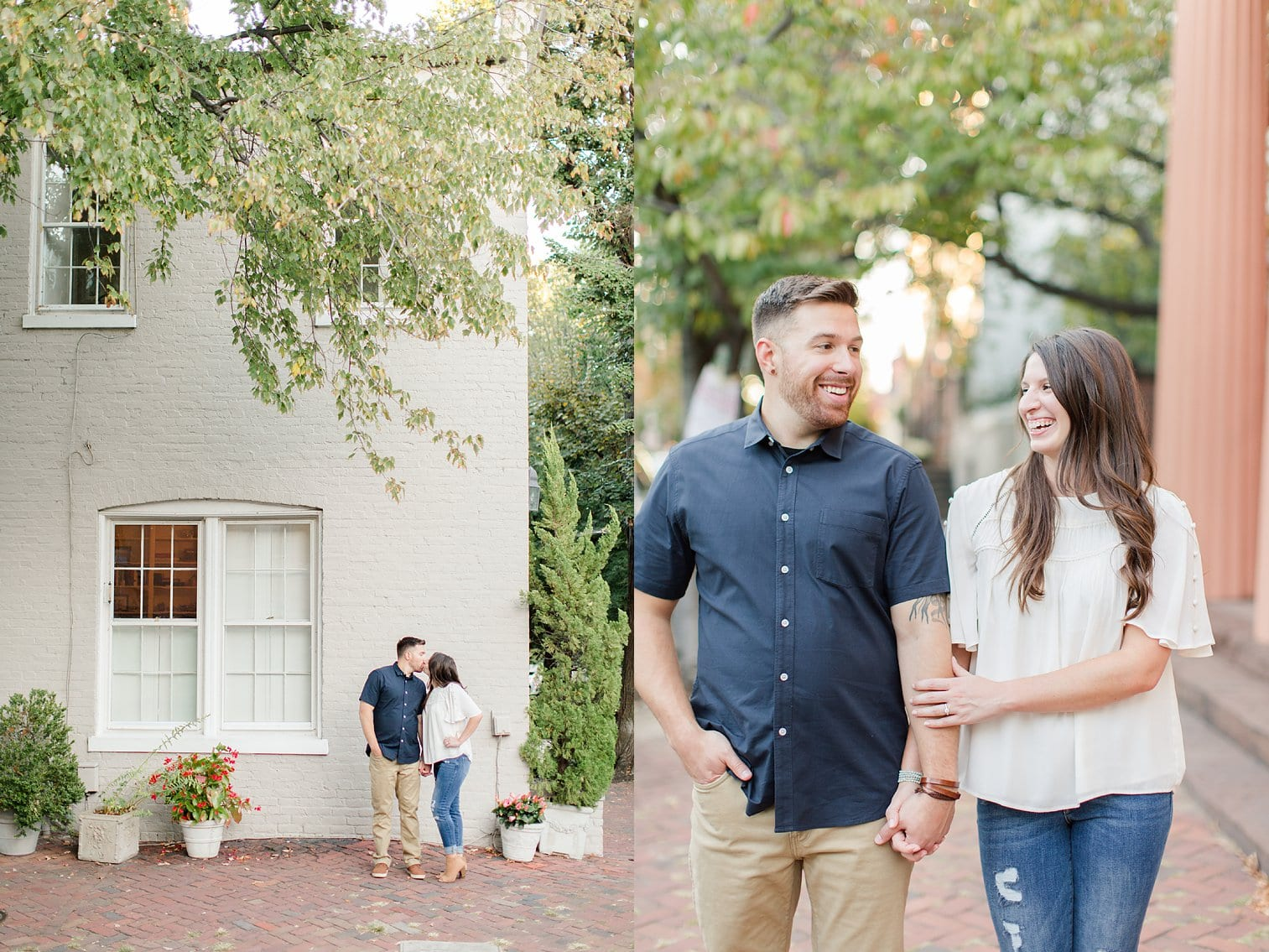 Fall Old Town Alexandria Engagement Photos Megan Kelsey Photography Virginia Wed-0027.jpg