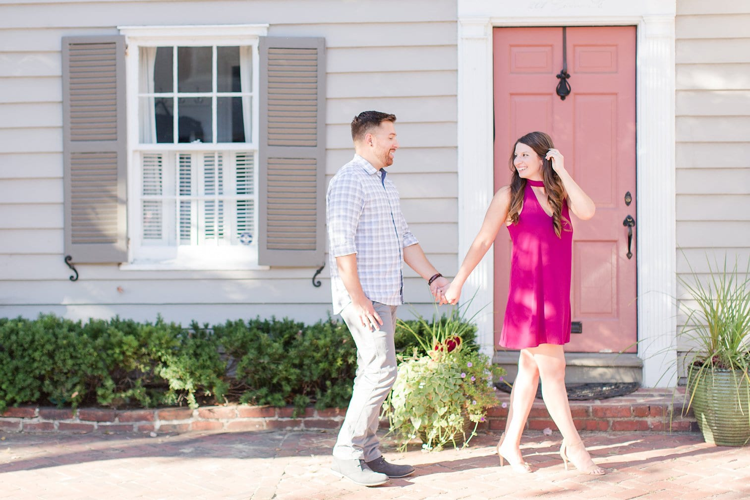 Fall Old Town Alexandria Engagement Photos Megan Kelsey Photography Virginia Wed-0031.jpg