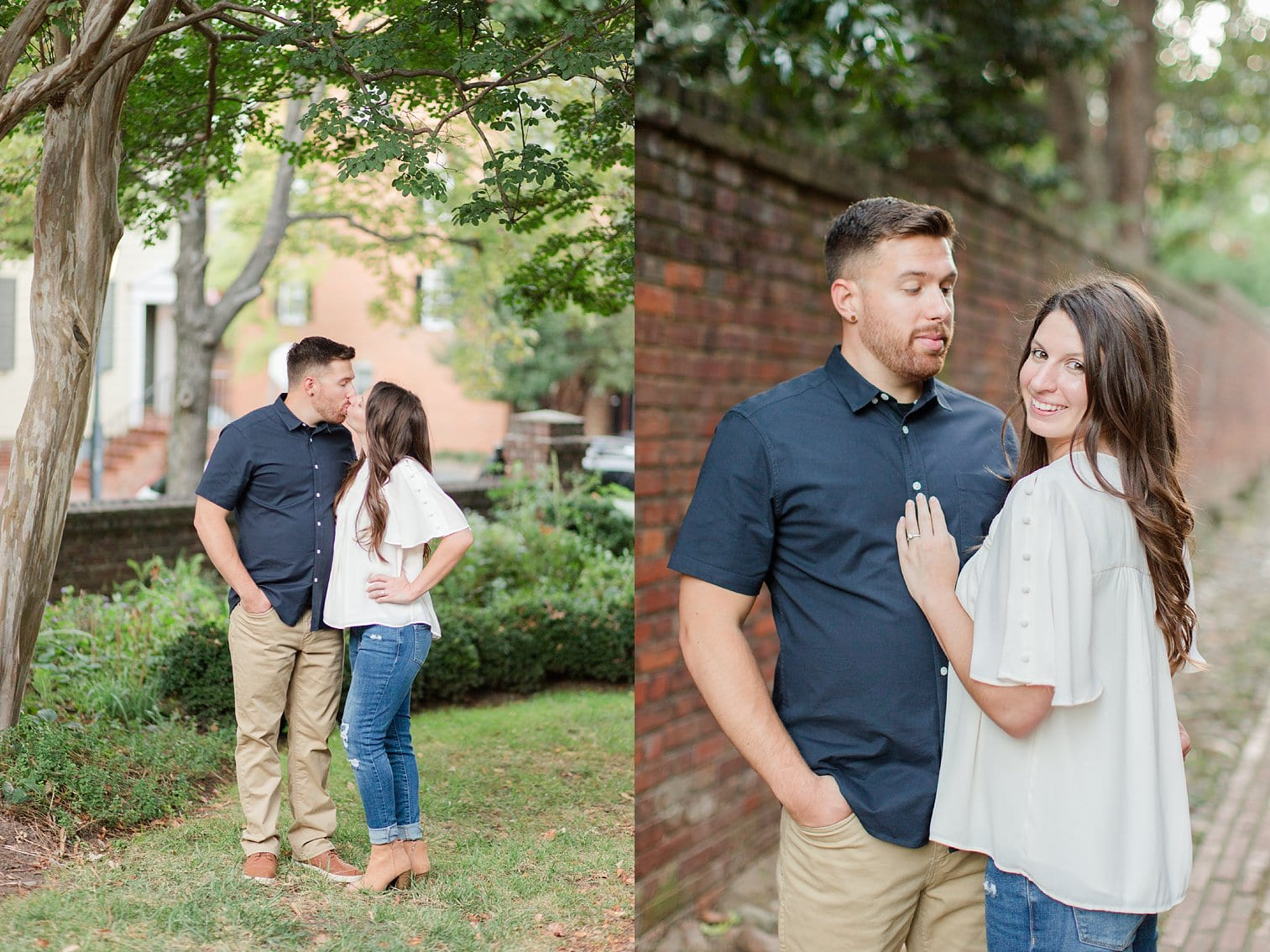 Fall Old Town Alexandria Engagement Photos Megan Kelsey Photography Virginia Wed-0056.jpg