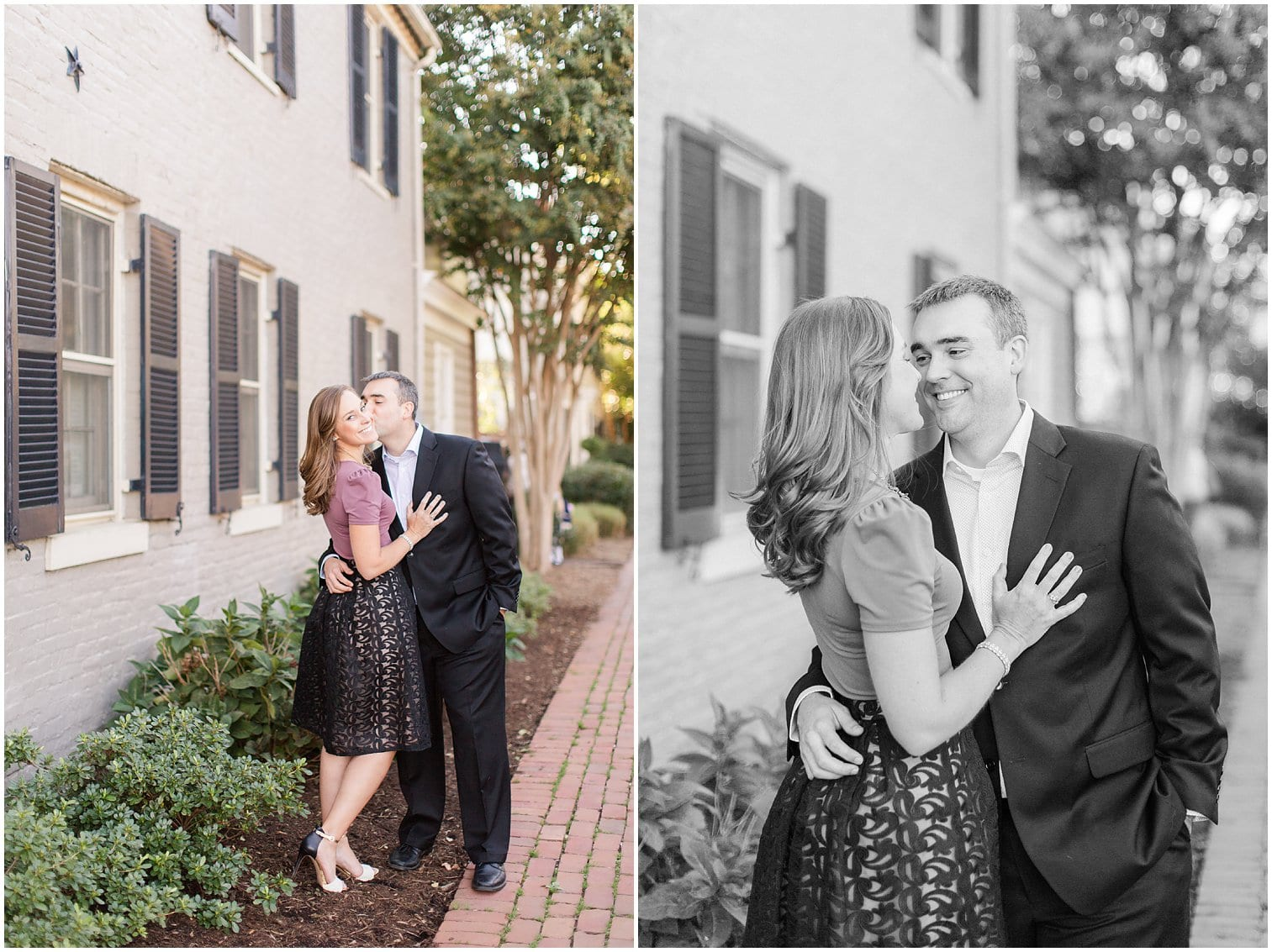Classic Old Town Alexandria Engagement Session-115.jpg