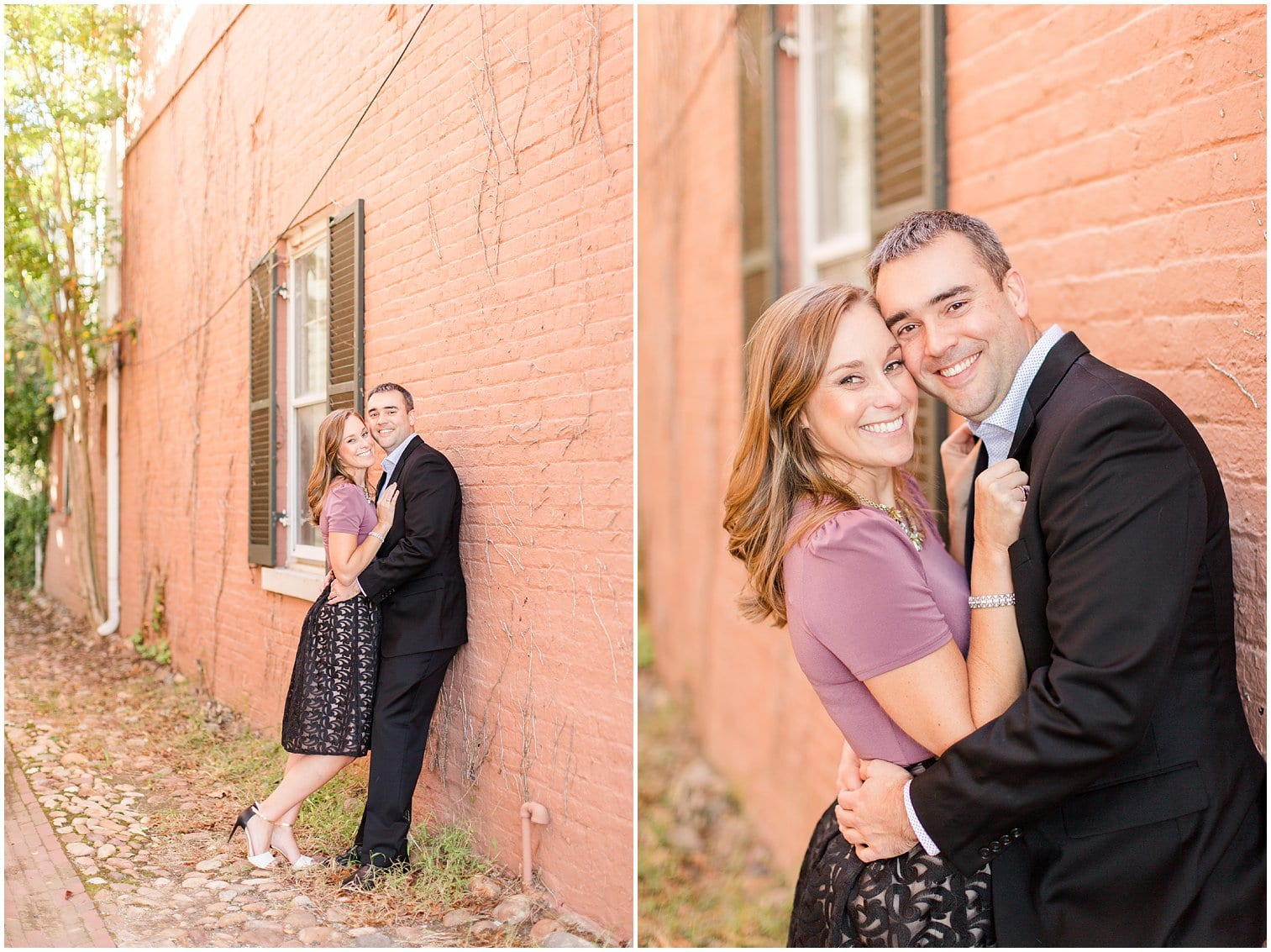 Classic Old Town Alexandria Engagement Session-124.jpg