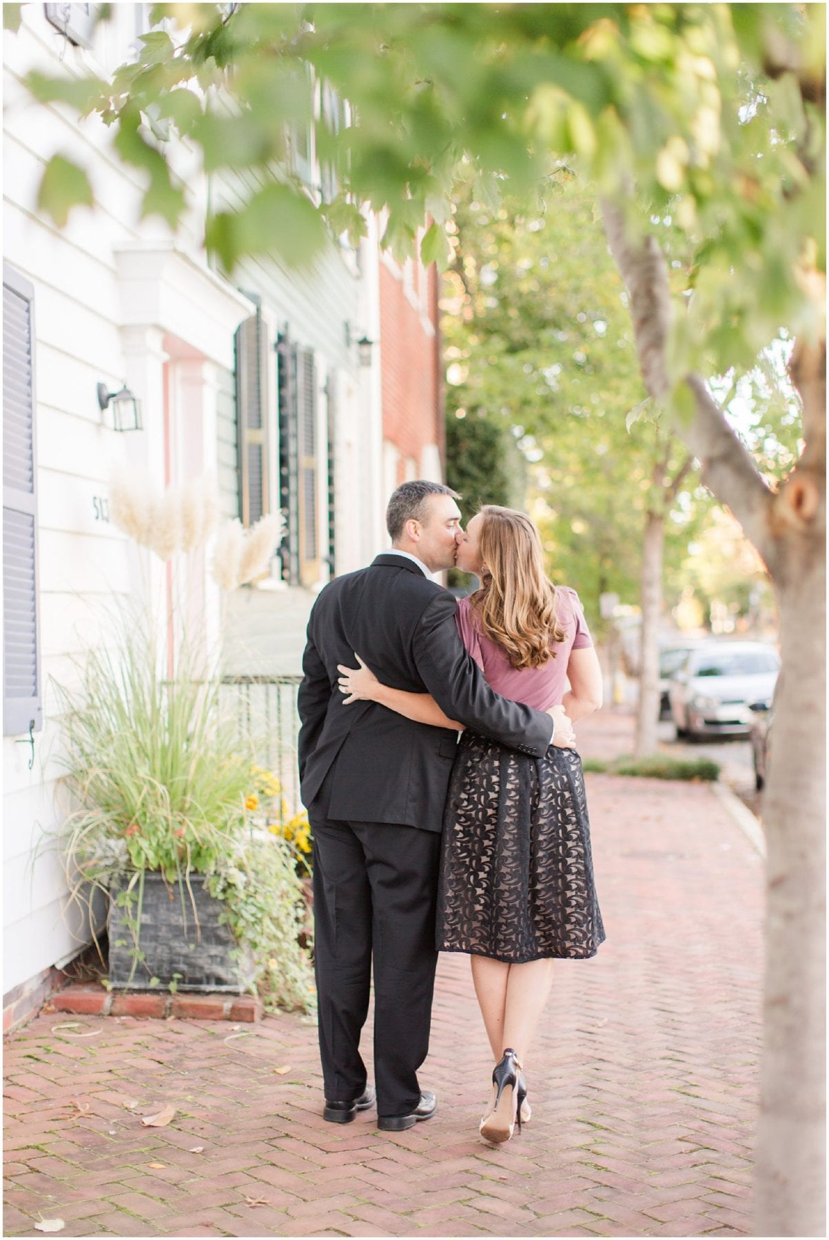Classic Old Town Alexandria Engagement Session-159.jpg