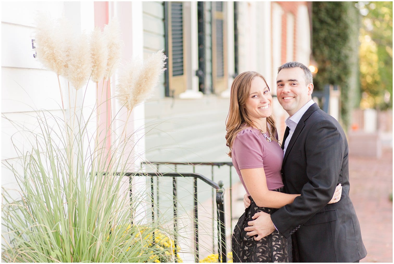 Classic Old Town Alexandria Engagement Session-173.jpg