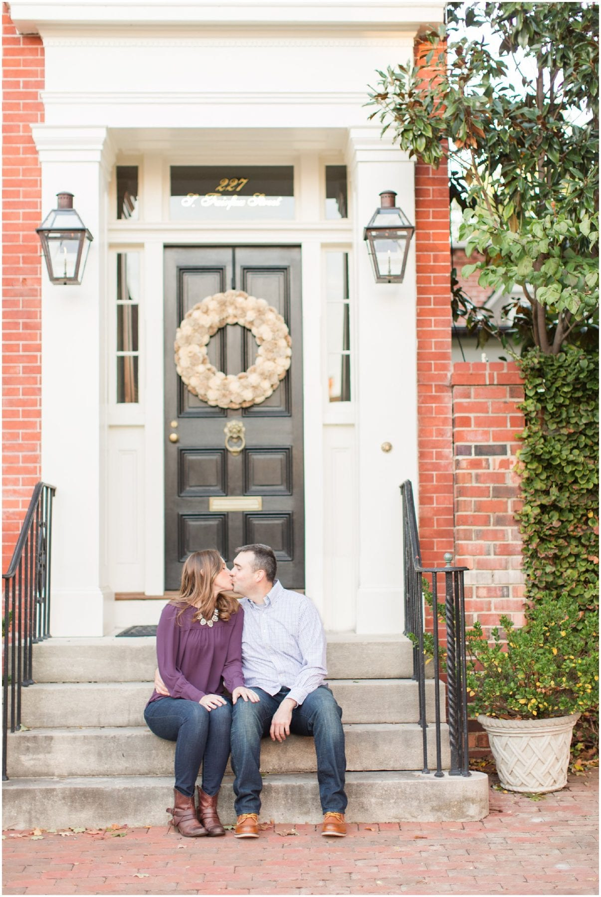 Classic Old Town Alexandria Engagement Session-207.jpg