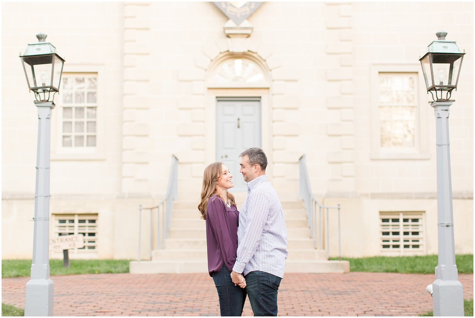 Classic Old Town Alexandria Engagement Session-253.jpg