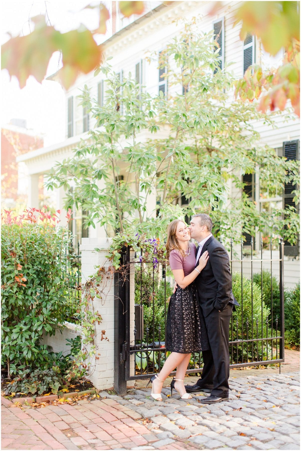 Classic Old Town Alexandria Engagement Session-54.jpg