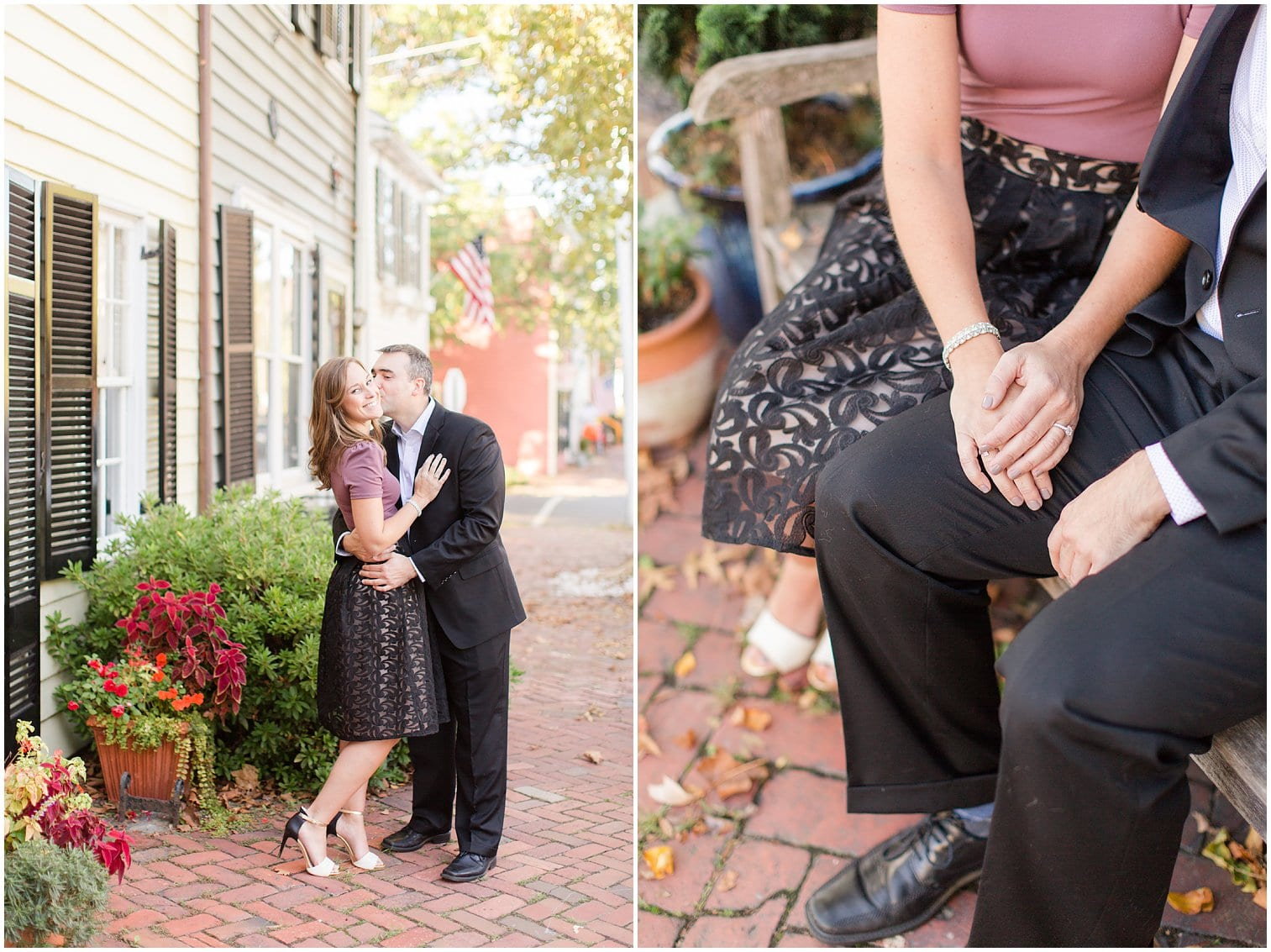 Classic Old Town Alexandria Engagement Session-75.jpg