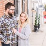 Downtown Middleburg Engagement Photos | Blair & Mike