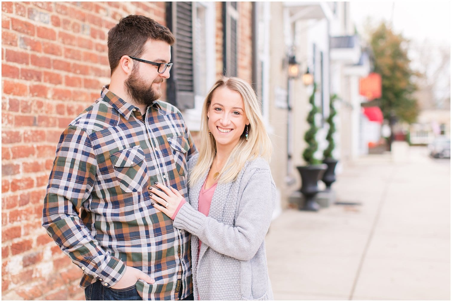 Downtown Middleburg Engagement Photos Virginia Wedding Photographer Megan Kelsey Photography Blair & Mike-3.jpg