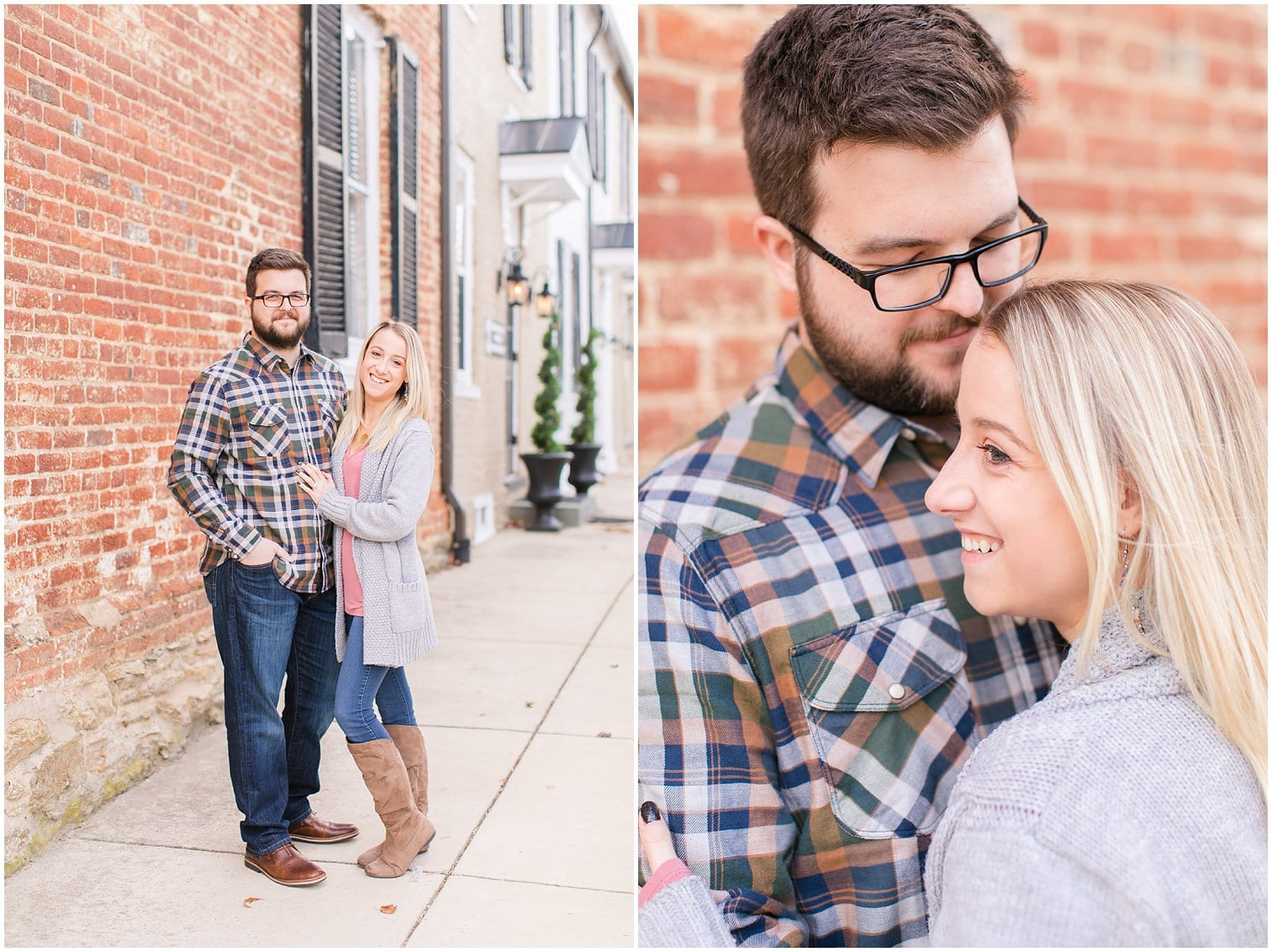 Downtown Middleburg Engagement Photos Virginia Wedding Photographer Megan Kelsey Photography Blair & Mike-5.jpg