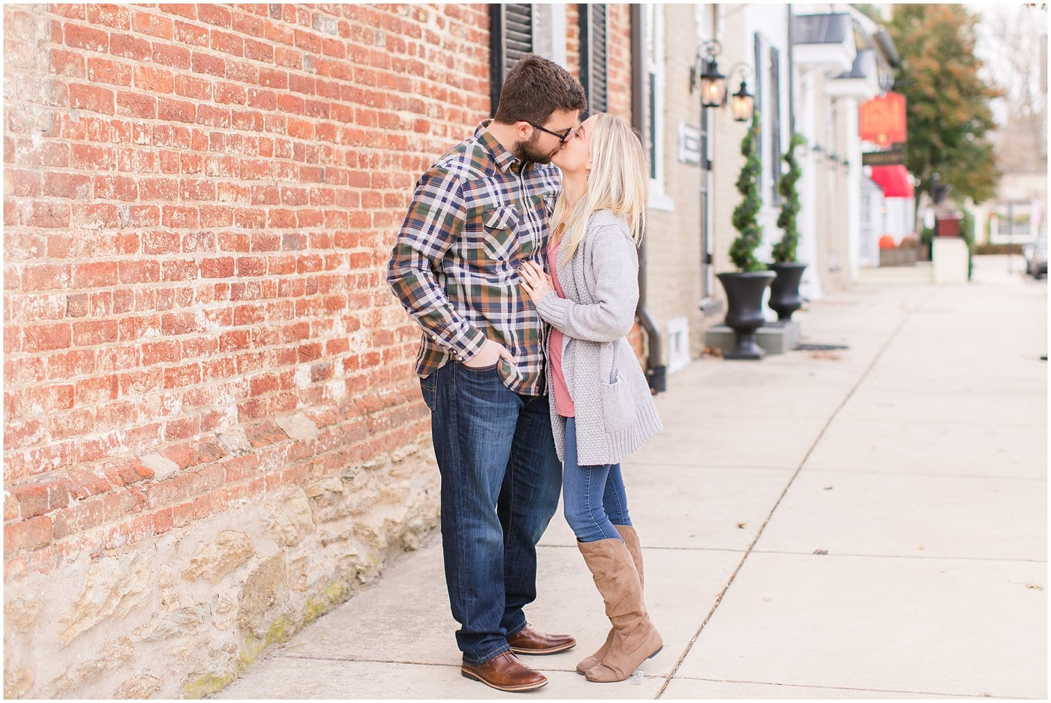 Downtown Middleburg Engagement Photos Virginia Wedding Photographer Megan Kelsey Photography Blair & Mike-6.jpg