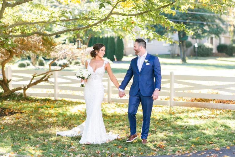 Backyard Wedding at Private Estate Fairfax Virginia Wedding Photographer